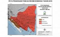 Lampung Masuki Puncak Kemarau Pada Agustus - September