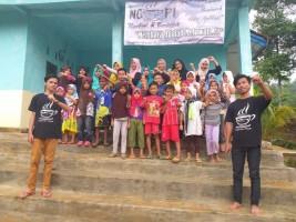 Lampung NgoPi Dirikan Taman Baca di Pelosok Tanggamus