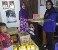 Lampung Post-Alfamart Salurkan Bantuan ke Panti Asuhan Mahmuda