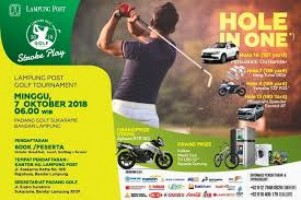 Lampung Post Golf  Tournament 2018 Siap Digelar