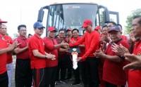 Lampung Selatan Dapat Bantuan Bus Gratis untuk Masyarakat