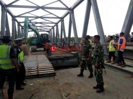Lampung, Sumsel dan Kemenhub Sinergi Atasi Jembatan Amrol di Mesuji