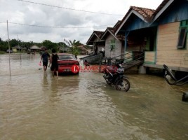 Langganan Banjir, Warga Dusun Harapanmulya Minta Pompanisasi