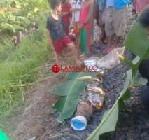 Lansia Tanpa Identitas Tertabrak Kereta di Jagabaya