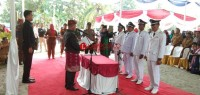 Lantik 4 Kades di Rajabasa, Nanang : Majukan Seni Budaya Lampung