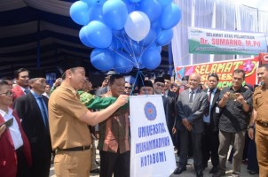Lantik Rektor, UMK Kotabumi Resmi Dibuka