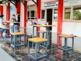 Lapas Kotaagung Bangun Ruang Tunggu Berbasis HAM dan Pendaftaran Online