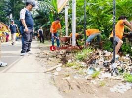Lapas Kotaagung Gelar Bhakti Sosial Bersih Lingkungan