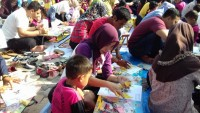 Latih Kreativitas Anak, TK Tunas Permata Gelar Lomba Kolase