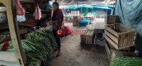 Lebaran Kedua, Pasar Simpang Pematang Masih Sepi