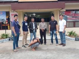 Leher Ditempel Golok, Warga Kedondong Lapor Polisi