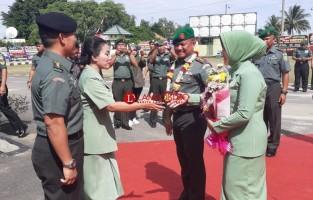 Letkol Arm Kus Fiandar Serahterimakan Jabatan Dandim 0426 ke Letkol Inf Kohir