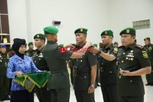 Letkol Arm Wahyu Jadmiko Resmi Jabat Dandim 0410 KBL