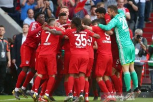 Libas Frankfut 5-1, Bayern Muenchen Pastikan Juara Liga Jerman