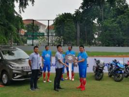 Lima Konsumen Suzuki Ikuti Penalty Kick Challenge