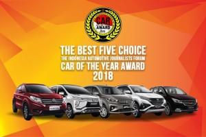 Lima Mobil Masuk Nominasi Forwot Car of the Year