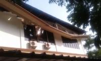 Lisplang Beton Gedung Sekkab Lampung Selatan Ambrol