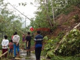 Longsor di 3 Titik, Baru Akses Jalan Utama yang Bisa Dilalui