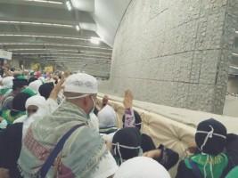 Lontar Jumrah Jemaah Haji Kloter 11 JKG Berlangsung Lancar