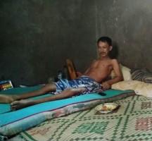Lumpuh Akibat Jatuh dari Pohon, Hasyanto Butuh Uluran Tangan untuk Pengobatan