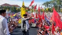 Ma'ruf Amin Hadiri Kampanye Terbuka di Lombok Timur