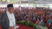 Ma'ruf Amin Sebut Kalangan Ibu Agresif Dukung Jokowi-Amin