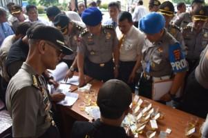 Mabes Tes Urine Personel Polda Lampung