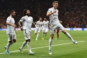 Madrid Raih Kemenangan Perdana di Liga Champions
