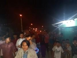 Mahasiswa KKN Meriahkan Idhuladha dengan Takbir Keliling dan Pawai Obor