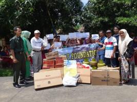Mahasiswa S-3 MPI UIN Beri Bantuan Korban Tsunami