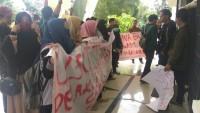 Mahasiswa UIN Gelar Unjuk Rasa Tuntut Pecat Dosen Asusila