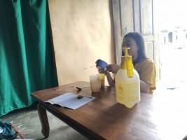 Mahasiswa Unila Ajak Warga Lambar Gunakan Pupuk Organik