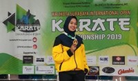 Mahasiswi Cantik Teknokrat Ini Juara Karate Internasional
