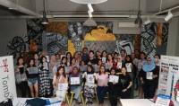 Makin Digandrungi, Tombow Gelar Workshop Seni Menggambar Huruf