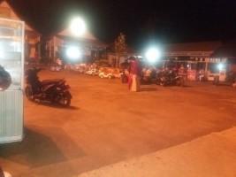 Malam Hari, Halaman TP PKK Lampura Menjadi Destinasi Wisata