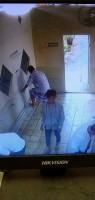 Maling Helm di Masjid Alhuda Terekam CCTV