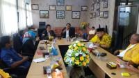 Manajemen Lampung Post Silaturahmi ke Golkar, Arinal Jamu Makanan Bakso