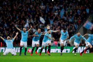 Manchester City Juara Piala Liga Inggris Lewat Adu Penalti