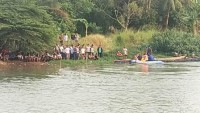 Mandi di Sungai Cisadane, Empat Bocah Hanyut