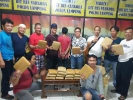 Manfaatkan Situasi Mudik, 20 Kg Ganja Asal Aceh Dikirim Lewat Ekspedisi
