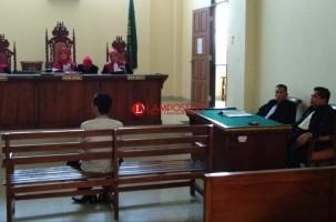 Mantan Kades Sidomekar Katibung Dituntut 6 Tahun Penjara