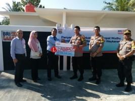 Mapolres Way Kanan Terima Bantuan CSR Bank BRI