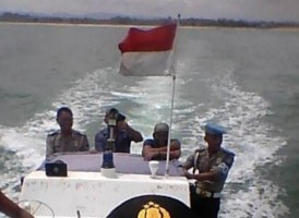 Mapolsek Bengkunat Laksanakan Patroli Laut