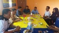 Mappilu PWI-Bawaslu Lamteng Jalin Kerjasama Awasi Pemilu