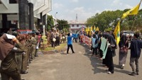 Marak Grup LGBT, PC-PMII Lampura Turun ke Jalan