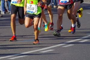 Maraton di Gunung