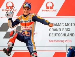 Marc Marquez Tercepat di MotoGP Jerman