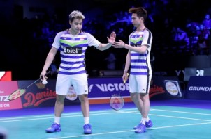 Marcus/Kevin Lolos ke Final China Open 2018