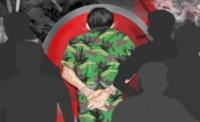 Marinir Gadungan Diamankan Satlantas Polresta Bandar Lampung