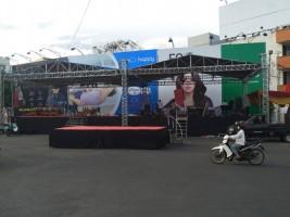 Masyarakat Lampung Bangga Presiden RI Ikuti Jalan Sehat